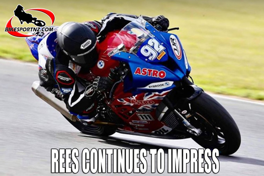 Damon Rees continues to impress in the UK