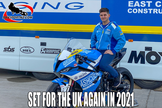 Back to the UK for Damon Rees in 2021