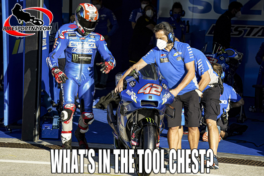 What makes it hum for Mir and Rins in MotoGP