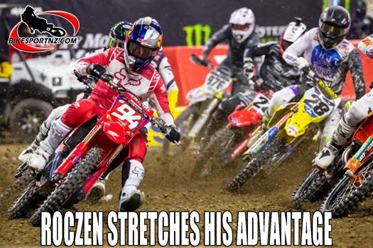 Ken Roczen stretches his advantage