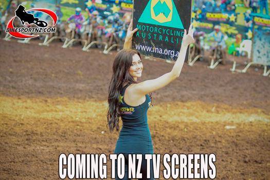 Australian MX Champs in TV in New Zealand