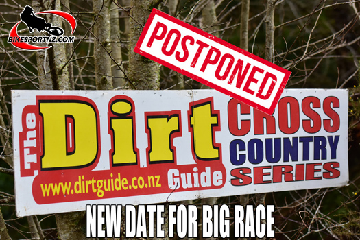 Dirt Guide Series final delayed