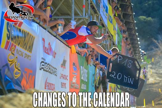 Updates to 2021 MXGP race calendar