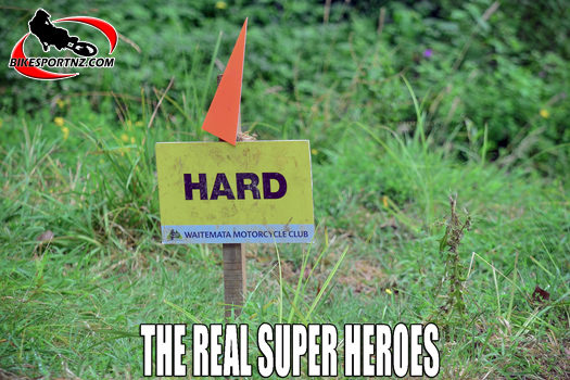 Enduro riders are the real super heroes of the world