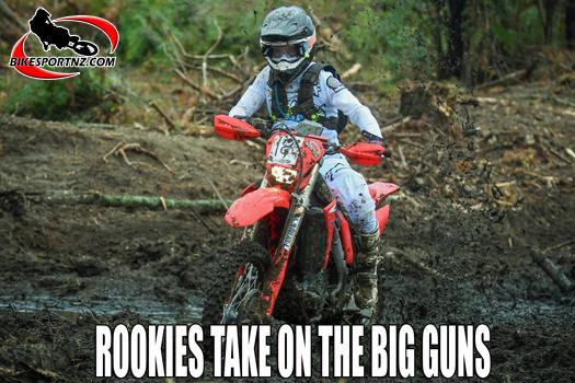 Rookie riders pose challenge for established enduro stars