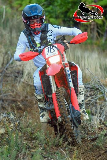 Enduro rookie rider James Scott impresses in 2021