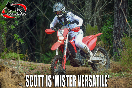 MX star James Scott on the charge for enduro title too