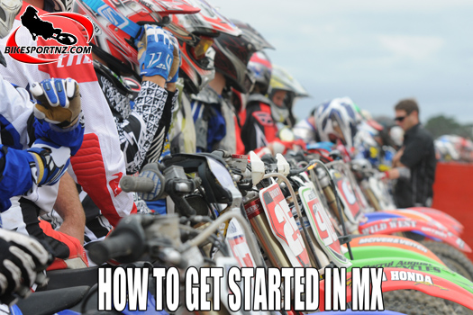 Getting started in motocross