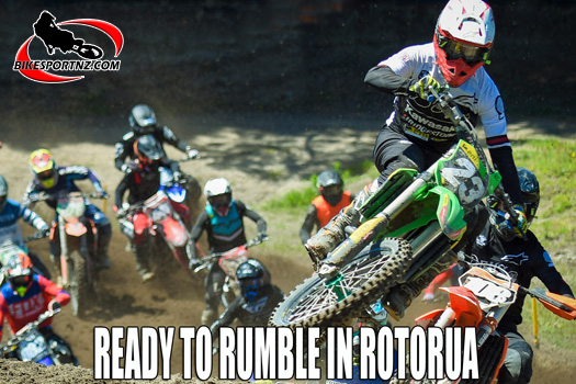 Rotorua hosts round two of the motocross nationals