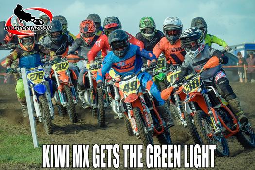 New Zealand motocross gets the green light