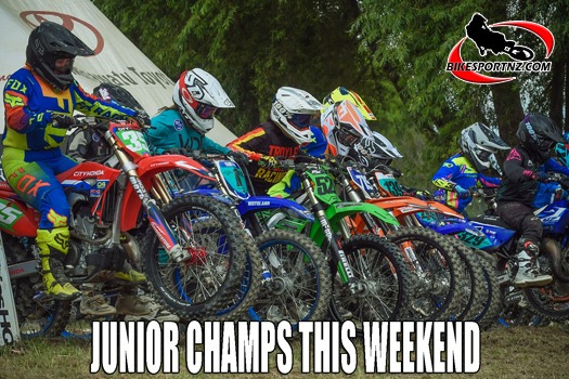 NZ Junior Motocross Championships are this weekend