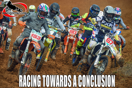 NZ Motocross Champs racing towards a conclusion
