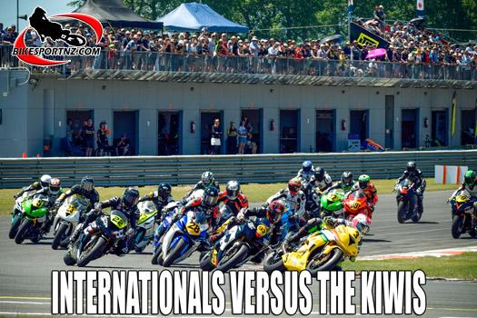 Suzuki International Series starts this weekend