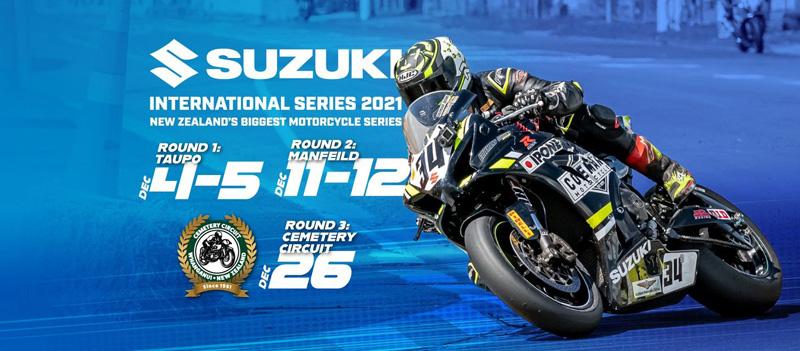Suzuki International Series getting ready to rumble