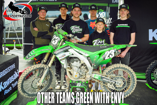 Team Greens wins Battle Of The Teams for 2021