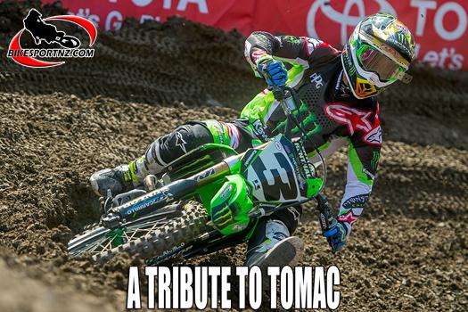 Looking back at Tomac's time with Kawasaki
