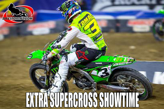 Supercross video treat from Tampa, Florida