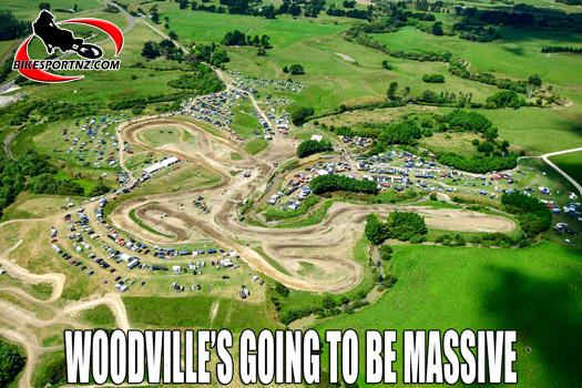 Oceania status for Woodville MX GP