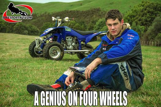 From ATV star to V8 Supercar legend