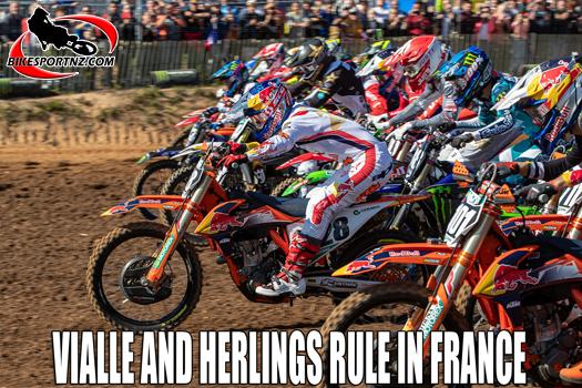 Red Bull KTM men dominate in France