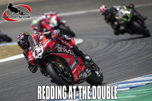 Redding wins WSBK in Spain