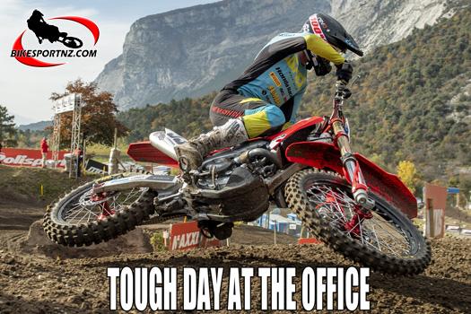 NZ's Walsh at MXGP of Trentino, Italy