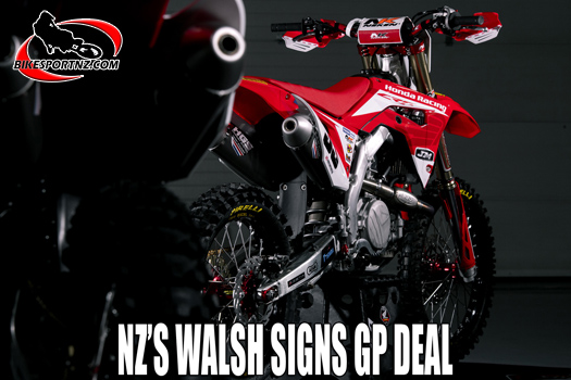 Dylan Walsh signs MXGP contract