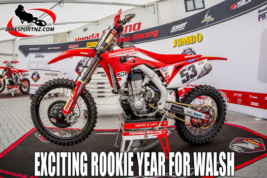 Dylan Walsh makes the most of MXGP opportunity