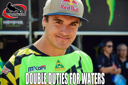 Todd Waters to race cross-country as well as MX