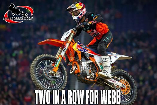 Cooper Webb closes in on Ken Roczen