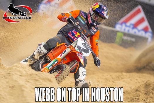 Cooper Webb wins Houston 3