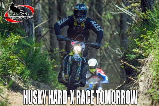 Husqvarna Hard X cross-country race