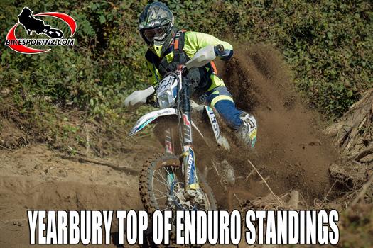 Dylan Yearbury top of NZ enduro standings