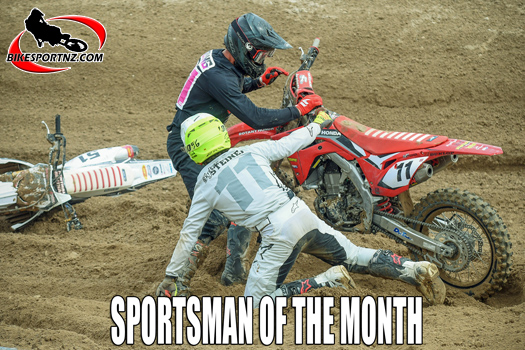 Quade Young - sportsman for the month on October
